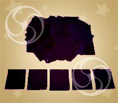 Конфетти полипропиленовое квадратное черное (CONFP11BL)