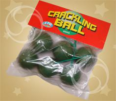 Фейрверк на земле cracling ball 0205a