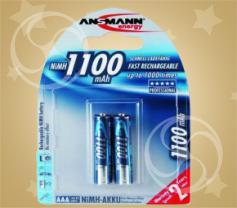 Аккумулятор ANSMANN 1100 (ААА)