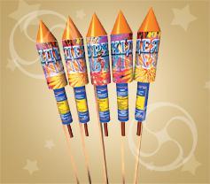 Набор из 5 ракет