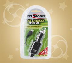 Автомобильное зарядное устройство Ansmann