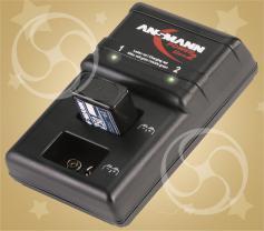 Зарядное устройство Ansmann для аккумуляторов 9В 'Крона'