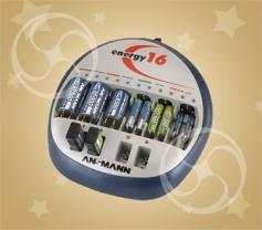 Зарядное устройство Ansmann Energy 16