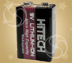 Аккумулятор Hitech 9V