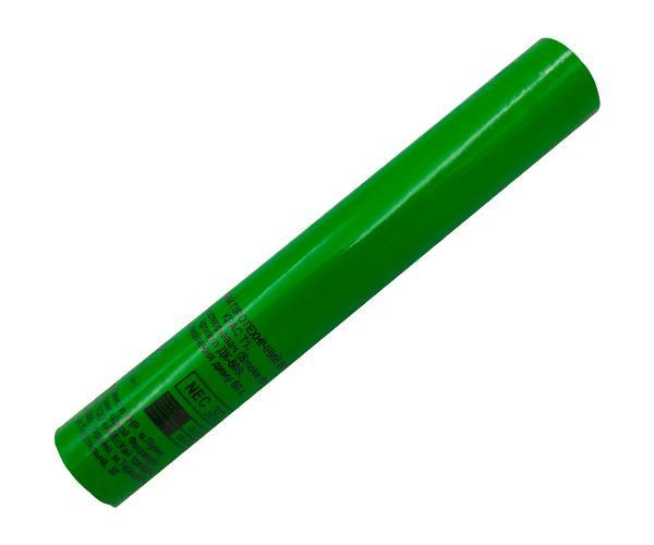 Факел зеленый искристый