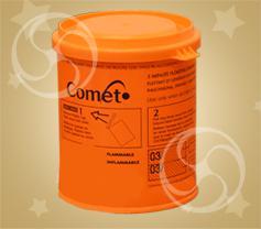 Фонтан дымный оранжевый (DH-3)