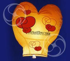 Сердце большое с индивидуальным рисунком