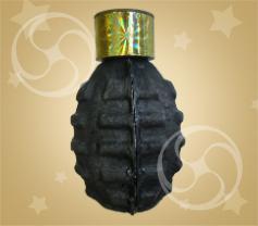 Шутиха (петарда) с фитилем в форме гранаты с дымом 1шт (GB-03)