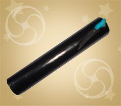 Свеча контурная голубая