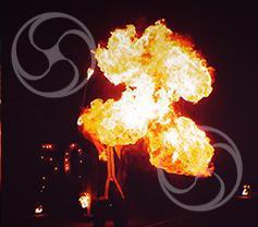 Огненное шоу Matrix 2 артиста