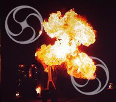 Огненное шоу Matrix 3 артиста