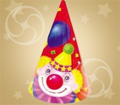 Колпак 'Клоун с шарами' 1шт