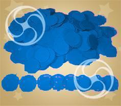 Конфетти полипропиленовое круглое синее