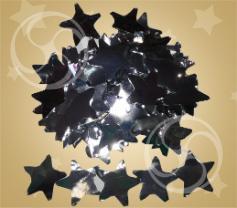 Конфетти металлизированное звездочки серебристые (CONFMSM06SL)