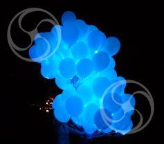 Светящиеся  шары с гелием (Glowing-1)