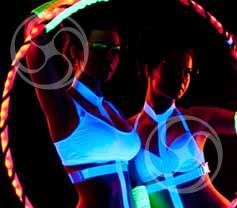 Световое шоу 'Hoop Dance'