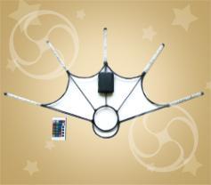 Светодиодные веера с инфракрасным пультом