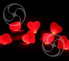 Светящиеся  шары надутые воздухом (Glowing-2)