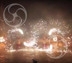Огненно-пиромузыкальное шоу 'Золотая сказка' 5 артистов