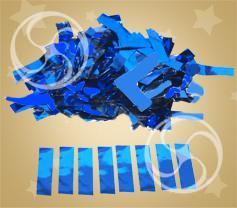 Конфетти металлизированное прямоугольное синее (метафан) (CONFM10/2DB)