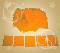 Конфетти полипропиленовое квадратное желтое (CONFP11/2YL)