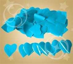 Конфетти полипропиленовое лепестки розы голубые (CONFP05/2LB)