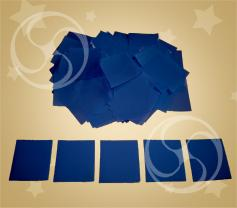 Конфетти полипропиленовое квадратное синее (CONFP11/2DB)