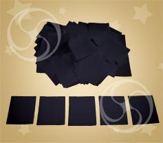 Конфетти полипропиленовое квадратное черное (CONFP11/2BL)