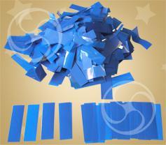 Конфетти полипропиленовое прямоугольное синее