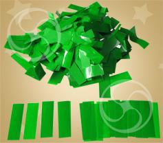 Конфетти полипропиленовое прямоугольное зеленое (CONFP10DG)