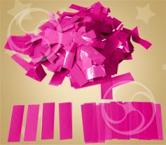Конфетти полипропиленовое прямоугольное розовое