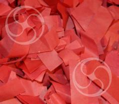 Конфетти бумажное прямоугольное красное (CONFPP10RD)