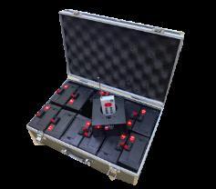 Комплект беспроводного оборудования для фонтанов 12 каналов