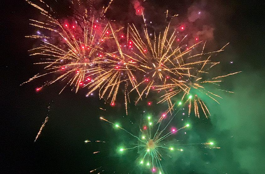Park Firework. Get Lucky - Daft Punk