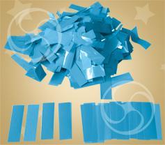 Конфетти полипропиленовое прямоугольное голубое