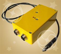 Преобразователь интерфейса USB в RS-485 для компьютерной системы запуска фейерверков PYRO