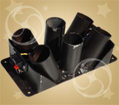 Стаканы пиротехнические веерные для 6 изделий