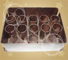 Стаканы пиротехнические вертикальные и веерные для 13-ти изделий
