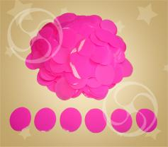 Конфетти полипропиленовое круглое розовое (CONFP02PK)