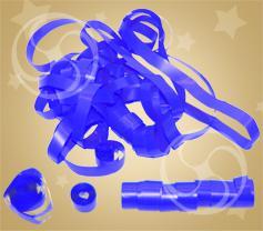 Серпантин полипропиленовый синий (SERP01DB)