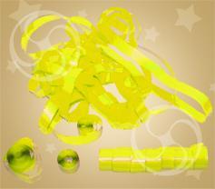 Серпантин полипропиленовый желтый (SERP01YL)
