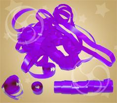 Серпантин полипропиленовый фиолетовый (SERP01PR)