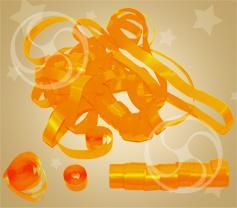 Серпантин полипропиленовый оранжевый (SERP01OR)