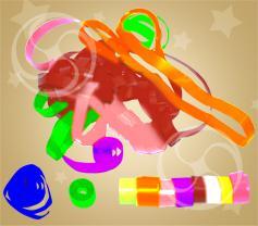 Серпантин полипропиленовый разноцветный (SERP01MC)