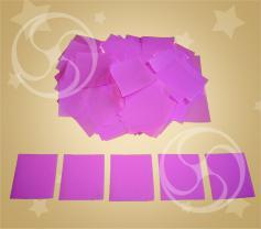 Конфетти полипропиленовое квадратное сиреневое (CONFP11LV)