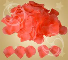 Конфетти из ткани лепестки розы розовые (PP-12)